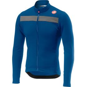 Castelli Puro 3 Bike Jersey Longsleeve Men blue